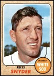 1968 Topps #504  Russ Snyder  Front Thumbnail