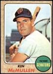1968 Topps #116  Ken McMullen  Front Thumbnail