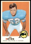 1969 Topps #253  Jim Keyes  Front Thumbnail