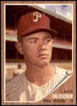 1962 Topps #46  Jack Baldschun  Front Thumbnail