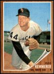 1962 Topps #576  Russ Kemmerer  Front Thumbnail