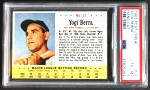 1963 Post Cereal #17  Yogi Berra  Front Thumbnail