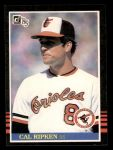 1985 Donruss #169  Cal Ripken Jr.  Front Thumbnail