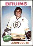 1975 Topps #9  Johnny Bucyk   Front Thumbnail