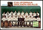 1975 Topps #82   Seals Team Checklist Front Thumbnail