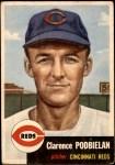1953 Topps #237  Clarence 'Bud' Podbielan  Front Thumbnail
