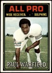 1974 Topps #128   -  Paul Warfield All-Pro Front Thumbnail