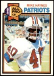 1979 Topps #35  Mike Haynes  Front Thumbnail