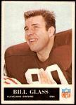1965 Philadelphia #33  Bill Glass   Front Thumbnail