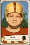 1954 Bowman #89  Don Boll  Front Thumbnail