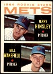 1964 Topps #576   -  Jerry Hinsley / Bill Wakefield Mets Rookies Front Thumbnail