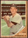 1962 Topps #117 GRN Gary Geiger  Front Thumbnail