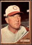 1962 Topps #172 NRM Fred Hutchinson  Front Thumbnail