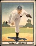 1941 Play Ball #24  Dutch Leonard  Front Thumbnail
