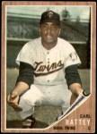 1962 Topps #371  Earl Battey  Front Thumbnail