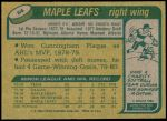 1980 Topps #64  Rocky Saganiuk  Back Thumbnail