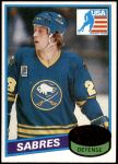 1980 Topps #127   -  Mike Ramsey Team USA Front Thumbnail