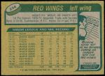 1980 Topps #234  Errol Thompson  Back Thumbnail