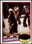 1980 Topps #241  Thomas Gradin  Front Thumbnail