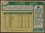 1980 Topps #8  Phil Myre  Back Thumbnail