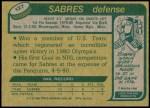 1980 Topps #127   -  Mike Ramsey Team USA Back Thumbnail