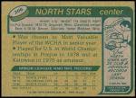 1980 Topps #206  Mike Eaves  Back Thumbnail
