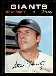 1971 Topps #486  Steve Huntz  Front Thumbnail