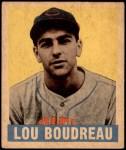 1948 Leaf #106  Lou Boudreau  Front Thumbnail