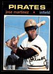 1971 Topps #712  Jose Martinez  Front Thumbnail