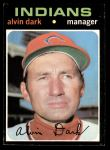 1971 Topps #397  Al Dark  Front Thumbnail