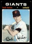 1971 Topps #691  Bob Heise  Front Thumbnail