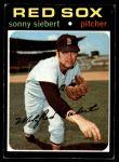 1971 Topps #710  Sonny Siebert  Front Thumbnail