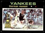 1971 Topps #5  Thurman Munson  Front Thumbnail