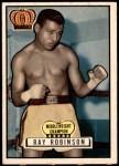 1951 Topps Ringside #43  Sugar Ray Robinson  Front Thumbnail