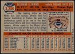1957 Topps #138  Minnie Minoso  Back Thumbnail