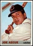 1966 Topps #452  Joe Azcue  Front Thumbnail
