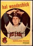 1959 Topps #106  Hal Woodeshick  Front Thumbnail