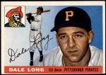 1955 Topps #127  Dale Long  Front Thumbnail