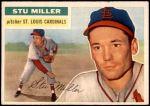 1956 Topps #293  Stu Miller  Front Thumbnail