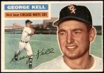 1956 Topps #195  George Kell  Front Thumbnail