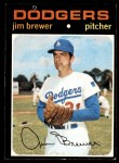 1971 Topps #549  Jim Brewer  Front Thumbnail
