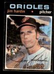 1971 Topps #491  Jim Hardin  Front Thumbnail