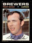 1971 Topps #97  Floyd Wicker  Front Thumbnail
