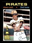 Deans Cards 5 1971 Topps # 212 Richie Hebner Pittsburgh Pirates Baseball Card EX Pirates