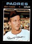 1971 Topps #548  Don Mason  Front Thumbnail