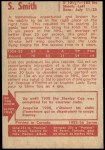 1955 Parkhurst #2  Sid Smith  Back Thumbnail