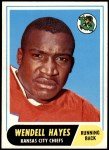 1968 Topps #40  Wendell Hayes  Front Thumbnail