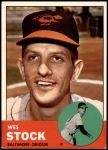 1963 Topps #438  Wes Stock  Front Thumbnail