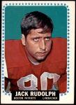 1964 Topps #19  Jack Rudolph  Front Thumbnail