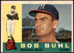 1960 Topps #374  Bob Buhl  Front Thumbnail